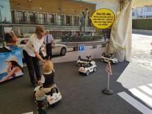 Taxi Göteborg skänker sina Bobby Cars - till förmån till Jontefonden