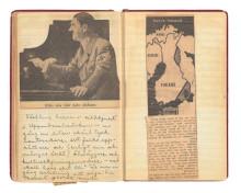 Astrid Lindgrens krigsdagböcker avstamp för utställning på Kulturen i Lund