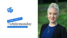 Thank God it's #WhiteMonday! Meetup with Alexandra Davidsson