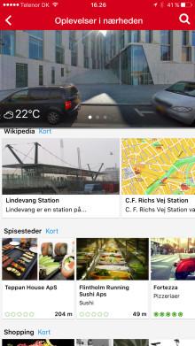 Opdateret Krak-app inspirerer til lokale oplevelser