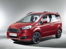 Nya Ford Tourneo Courier begår världspremiär i Genève – den nya, snygga storbilen kompletterar Tourneo-serien