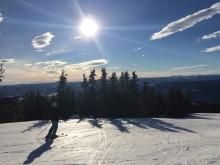 Rekordsäsong avslutas med vårskidåkning i de norska backarna