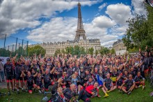 Tomorrow 'Team Fortrus' will begin the Bloodwise cycle from London to Paris