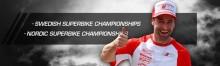 Sista racet? Glöm det...Macke på Anderstorp. SM-final Super Bike.