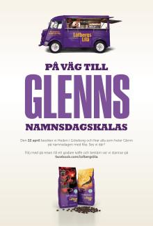 Bjuder Glenn på kaffe i Göteborg