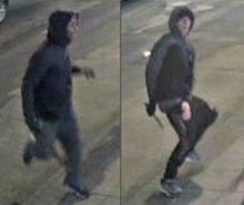 Appeal to identify men following stabbing