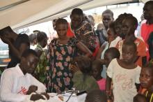 Sydsudan: Patienter i Juba vårdas efter strider