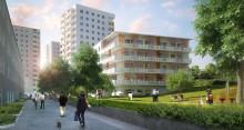 Stockholmshem bygger 160 hyresrätter i klimatsmarta Valla Torg