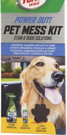 Nu blir det enklare att städa bilen efter husdjuren – hårstrån, dålig lukt och fläckar tas enkelt bort