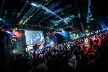 Vepor och backdrops till Dreamhack Winter 2015