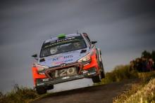 Dubbelt Hyundai på prispallen i Rallye Deutchland