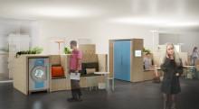Här är första bilderna på framtidens tvättstuga