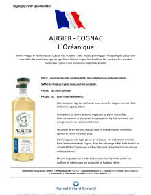 Augier - L'Océanique, produktinfo