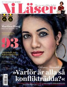 Vi Läser nr 2 2016: Möt Athena, Orhan och Martina Haag