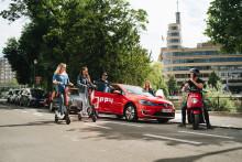 Poppy is het eerste mobiliteitsplatform in Europa dat 3 mobiliteitsoplossingen aanbiedt in één app.
