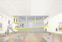 ArkDes skapar nytt rum för utställningar. Här är första bilderna.