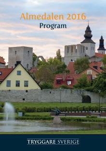 Almedalsprogram 2016
