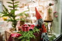 Julmarknadsprogrammet med skyltsöndag. I Säter. Där julen är som förr