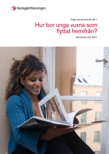 Hur bor unga vuxna som flyttat hemifrån (Stockholms län)