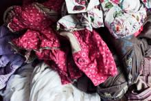 Experiment för att minska mängden kläder i hushållsoporna