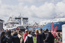 Succédag på Donsö – 2000 elever, lärare och studie- och yrkeslärare fick möta sjöfartsbranschen