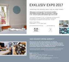 Vernissagekort inbjudan öppet hus Daniel Berlin 2017