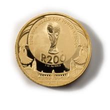 Fotbolls-VM uppmärksammas med Jubileumsmynt