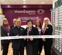 Vision Express highlights UK's growing glaucoma concern during opening of new optical store in Huntingdon