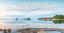 Datum satt för nästa upplaga av Scandinavian Summer School Week!