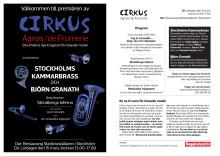 Cirkus Agnas/de Frumerie Infoblad