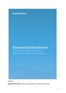 Skattesmäll Stockholm