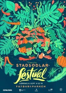 Stockholm sällar sig till världsstädernas odlingstrend - Premiär för en ny Stadsodlarfestival lördag 6/9