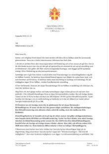 Öppet brev till miljöminister Lena Ek