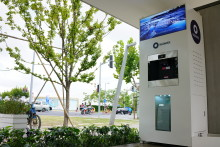 Unique Bluewater hydration station serves free water to  Shanghai's bustling Metro users