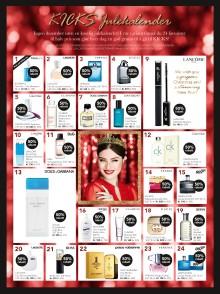 KICKS Julekalender - 24 luker med skjønnhetsfavoritter til halv pris!