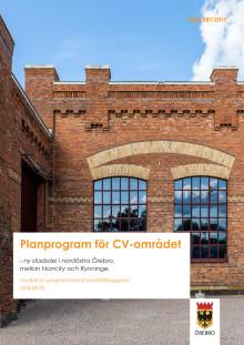 Planprogram för CV-området