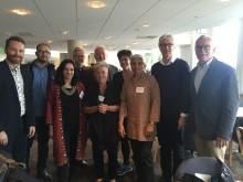 Hans Rosling fick Solidaritetspriset av SAK under årsmötet i helgen