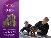 Sommaren tillhör Italienska chokladmästarna Gardini del 2 av 5 – mörk choklad med kalabrisk lakrits