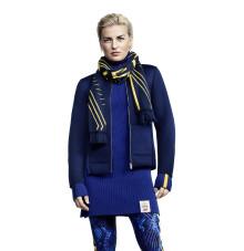Viktoria Helgesson visar nya OS-kollektionen från H&M