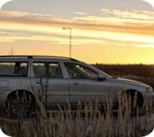 Volvo V70 - premieskillnad nästan 9500 kr i storstad