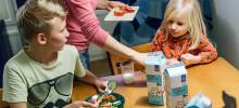 Lasten ravitsemusohjaus korjaa koko perheen ruokatapoja