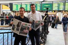 Tågresenärerna jublar – nu finns Metro på Sveriges största centralstationer