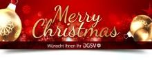 Fröhliche Weihnachten und einen guten und gesunden Start in das neue Jahr wünscht Ihnen Ihr DGSV