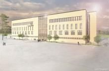 Ramirent säkrar bygget av ny polishögskola i Umeå