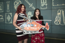 £13k lift for Air Ambulance from Mayor of Mid and East Antrim