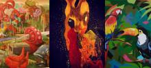 Lokala konstnärer blir vinnare i öppen konsttävling  - Se konstverken som målas upp på husfasader i Göteborg