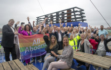 Stena Line hisst europaweit die Regenbogenflagge