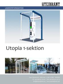 Produktblad Laddstationsskydd Utopia 1-sek
