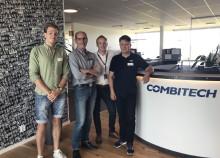 Stratupbolaget Hälsobrickan från Innovatum  ingår samarbete med Combitech