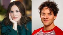 Brita Zackari och Nassim Al Fakir leder Idrottsgalans SVT Play-sändning för andra året i rad!